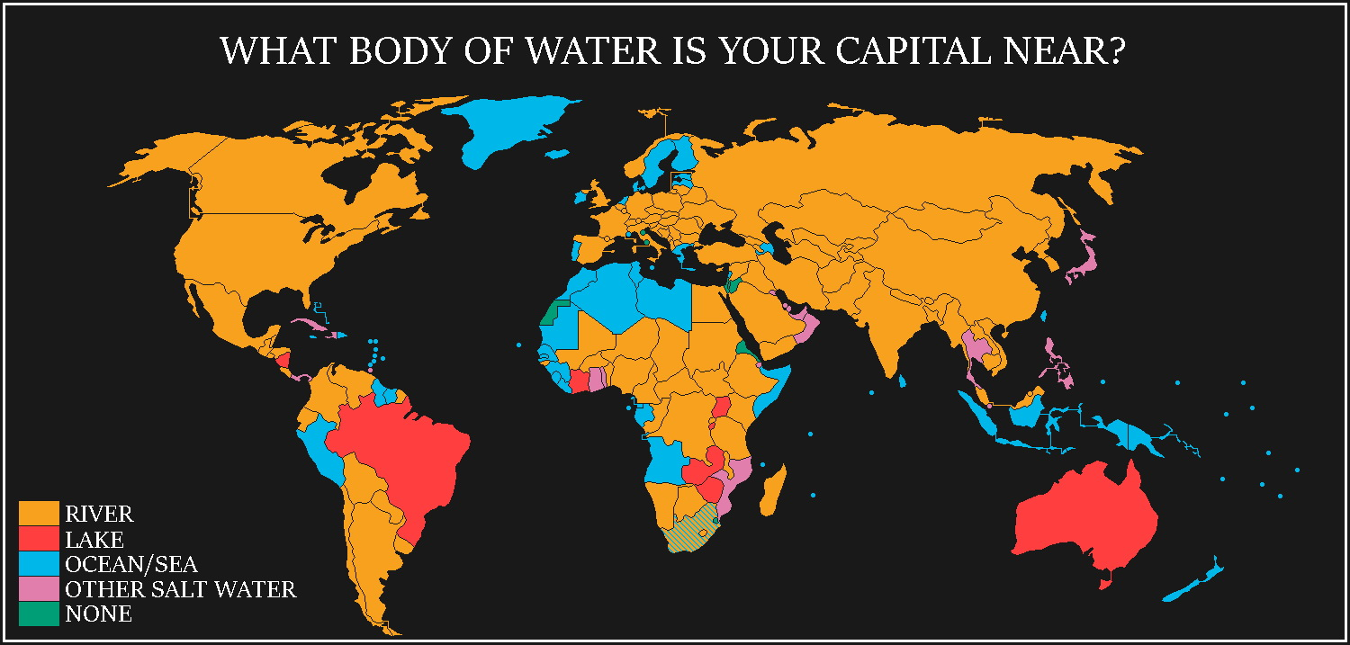 What body of water is your capital near?