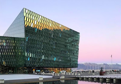 Harpa Concert Hall is one of Iceland's top sightseeing destinations