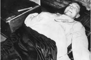 Hermann Göring cadaver