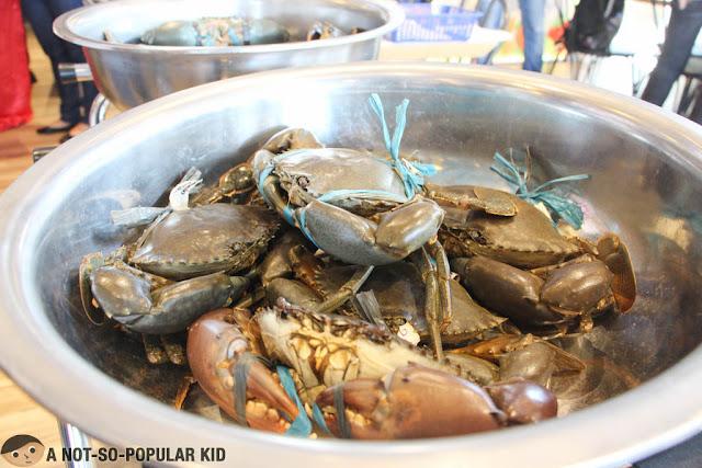 Blue Posts Boiling Crabs and Shrimps - Crabs