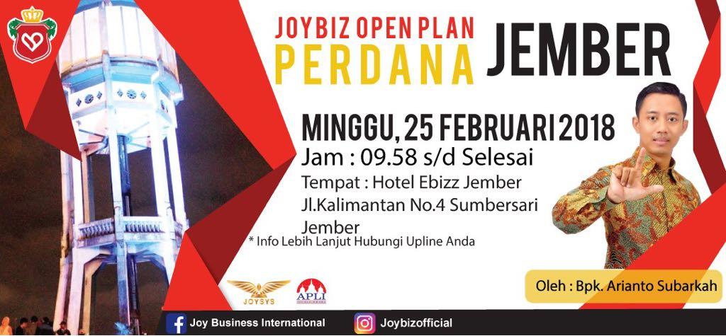 Presentasi JOP Perdana Joybiz di Kota Jember