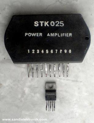 STK025 dan TDA2050