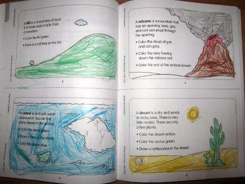 Lifetime Learning At Home Kindergarten Geography