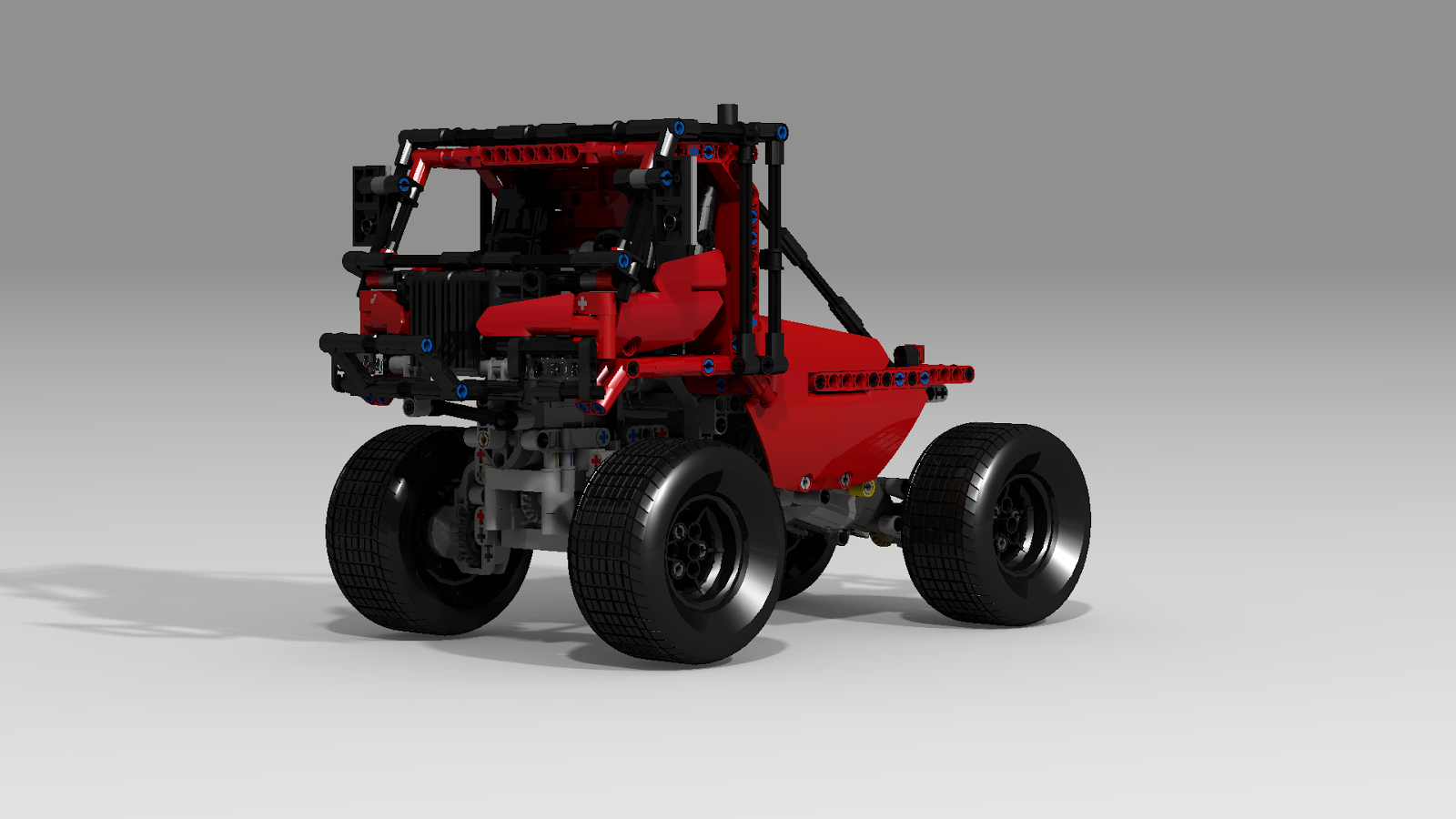 filsawgood Lego Technic Creations: LXF file for Trial Truck 4x4