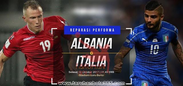 Prediksi Taruhanbola365 - Albania vs Italia 10 Oktober 2017