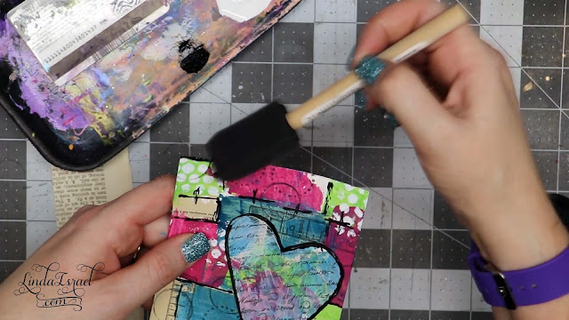 Marvelous Mixed Media Journal Card Tutorial
