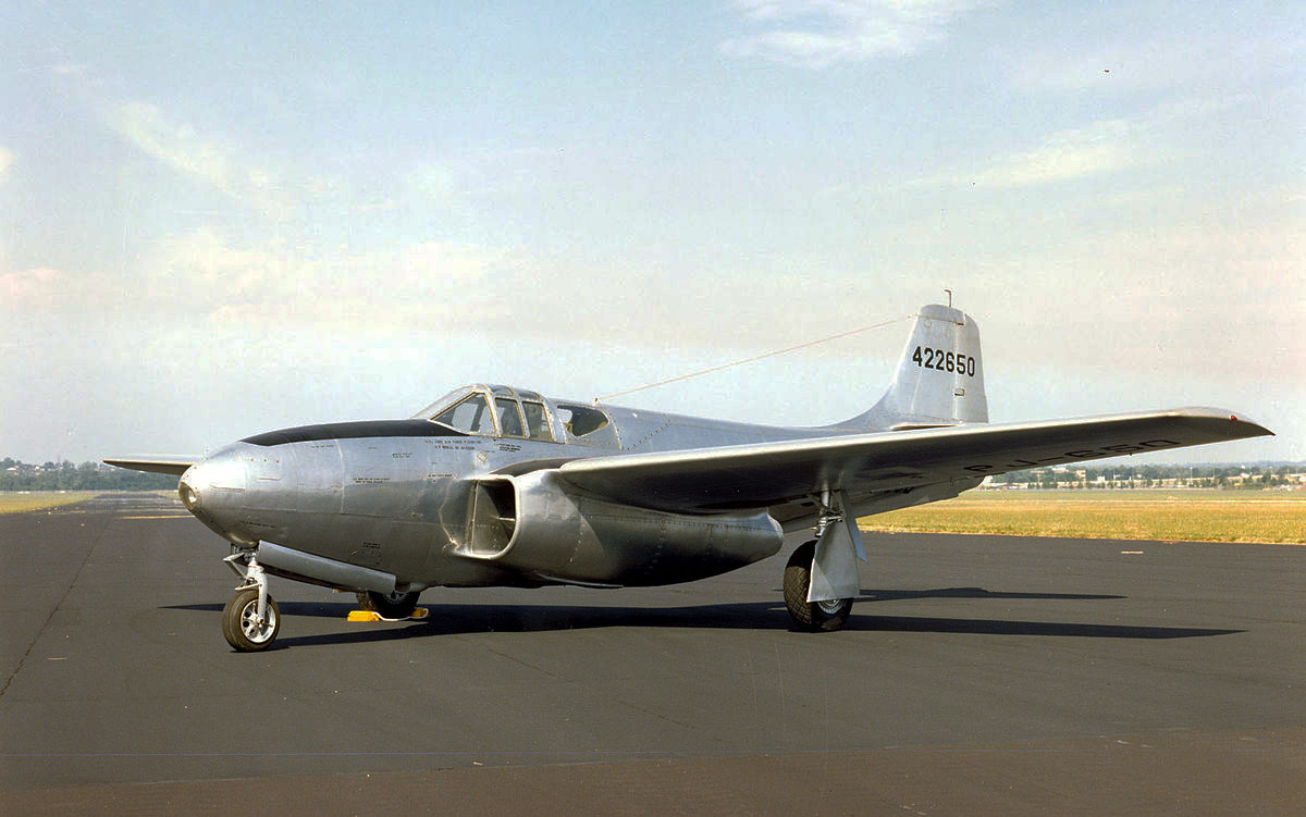 Pesawat Jet Temput Bell P-59 Airacomet