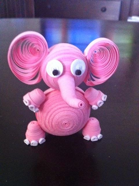 3d Paper Quilling Animal Ideas Some Art And Craft Ideas