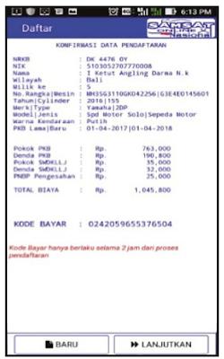 Cara Bayar Pajak Motor Bali