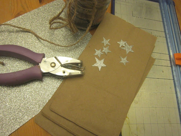 Catch a Falling Star--DIY favor, treat, or gift bags