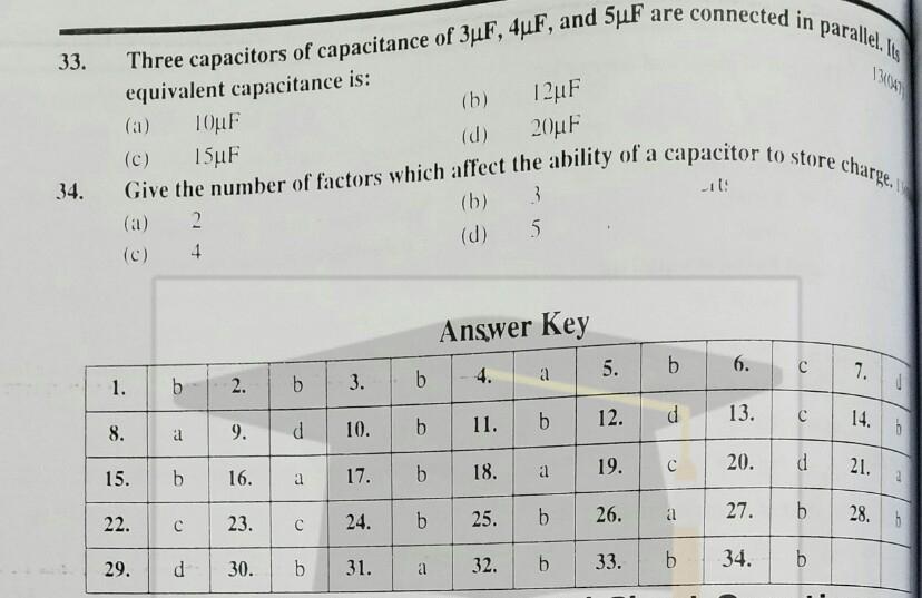 10th Physics Chapter 13 Electrostatics MCQs Solved | Matric Physics