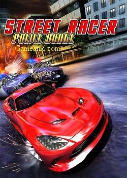 Street Racer Vs Police Game Cover