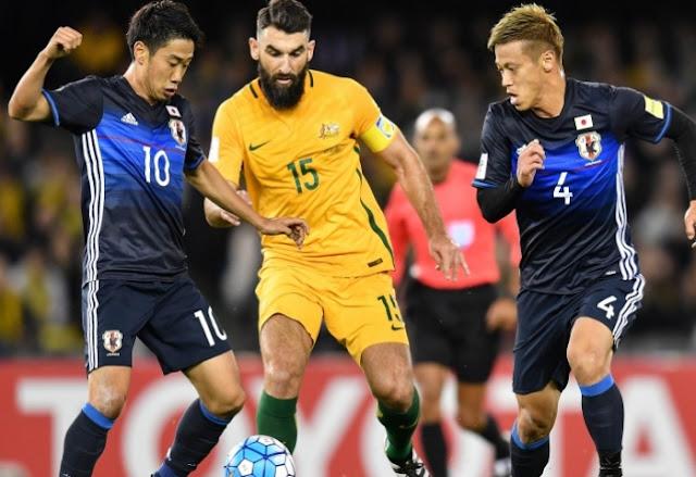 Jepang vs Australia