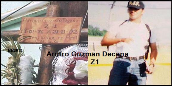 """A Guzmán Decena """"El Z-1"""" lo agarraron como al tigre de Santa Julia,La vida le hizo bueno aquello de """"como te ves me vi, como me veo te verás""""."""