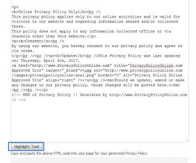 Cara Mudah Membuat dan Memasang Privacy Policy di Blog atau Website Terbaru