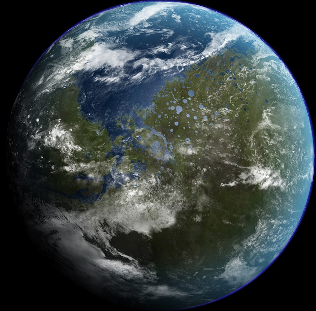 Mars Terraforming: Earth Blog