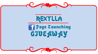 rexylla FB page launching giveaway, rexylla
