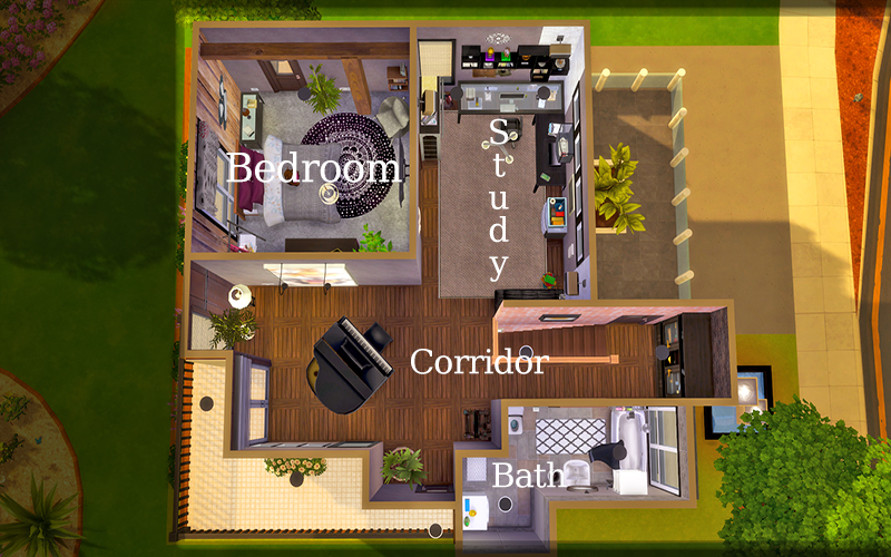 Contemporary Desert House Sims 4 Houses
