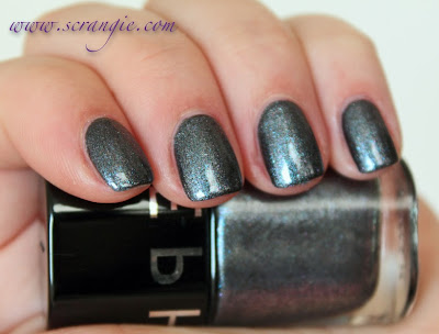 Scrangie Sephora Color Hit Nail Polish In Blackjack Swatches And Review