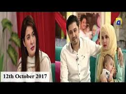 Geo Subah Pakistan | - Har Pal Geo Morning Show - | 12th October 2017