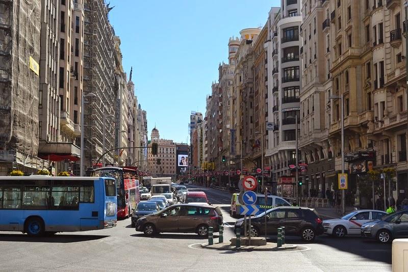 Gran Via, Madrid, Espagne, Gran Via