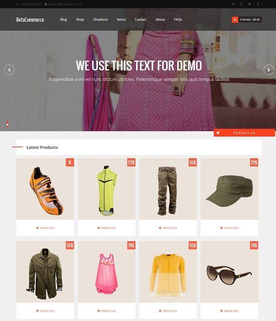 5 Best Free Online Shopping Store Blogger / Blogspot Templates