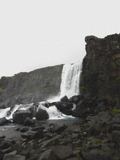 Wasserfall Þingvellir Thingvellir, Island, Iceland