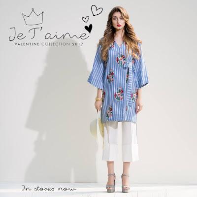 "Sapphire new valentine collection kurta ""dalliance Zeal"""