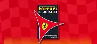 Ferrari land logo
