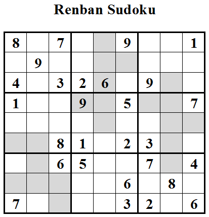 Renban Sudoku (Daily Sudoku League #22)