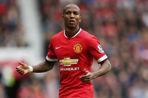 Hậu vệ cánh Ashley Young