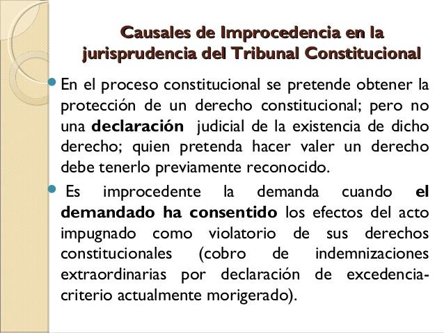Diapositiva los procesos constitucionales en la for Que es un proceso extrajudicial