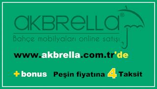 Akbrella.com.tr Bahçe mobilyaları