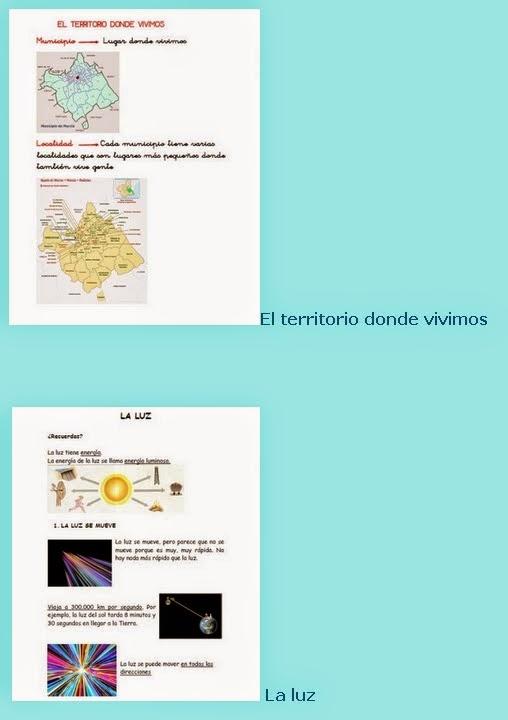 MATERIALES ADAPTADOS CONOCIMIENTO DEL MEDIO TODA PRIMARIA