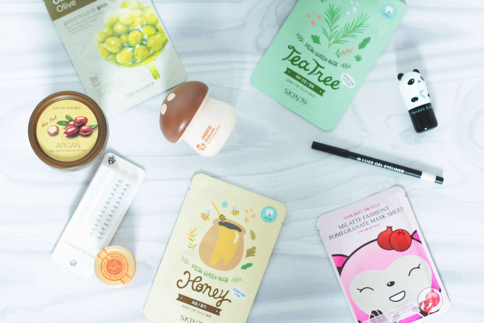 collective korean beauty haul skinfood tonymoly nature republic the face shop
