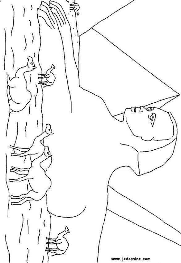 este cole mola: Dibujos para colorear de Egipto