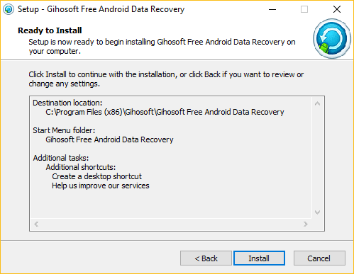 Gihosoft Free Android Data Recovery