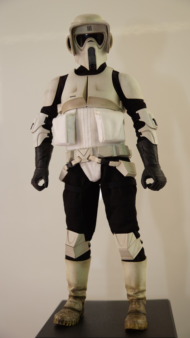 Alteregoistic Toy Blogger Sideshow Scout Trooper