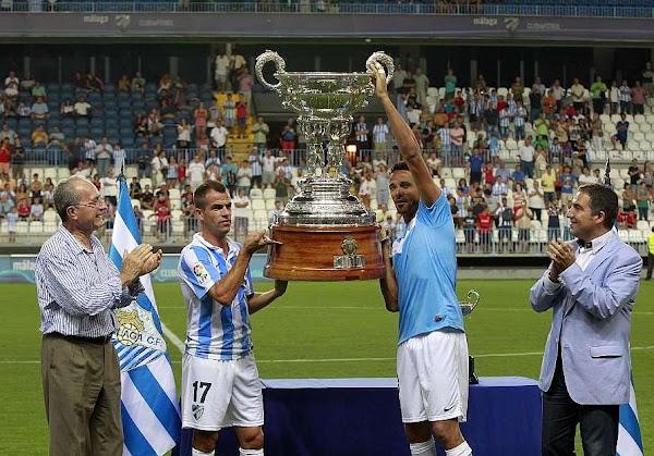 El Trofeo Costa del Sol será entre el Málaga y la Lazio