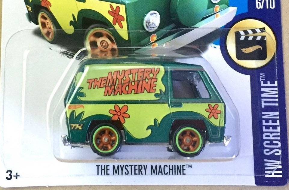 hot wheels mystery machine 20017 super treasure hunts