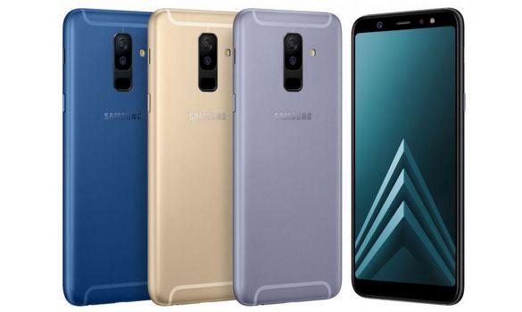 سامسونج تعلن عن اربع هواتف جديدة J6 و J8 و A6 و A6 Plus !! تعرف على مواصفاتها و سعرها !!