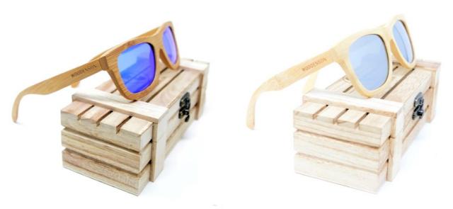 Información de Gafas Personalizadas Woodenson