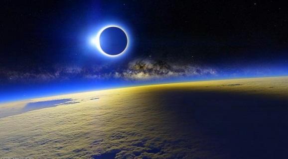 Proses; Cara aman melihat Gerhana Matahari serta Tujuh hal seputar Gerhana Matahari Keseluruhan