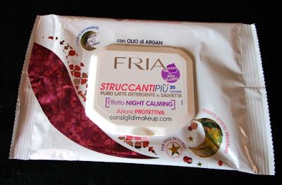 Review: Salviette StruccantiPiù Night Calming Azione protettiva - Fria