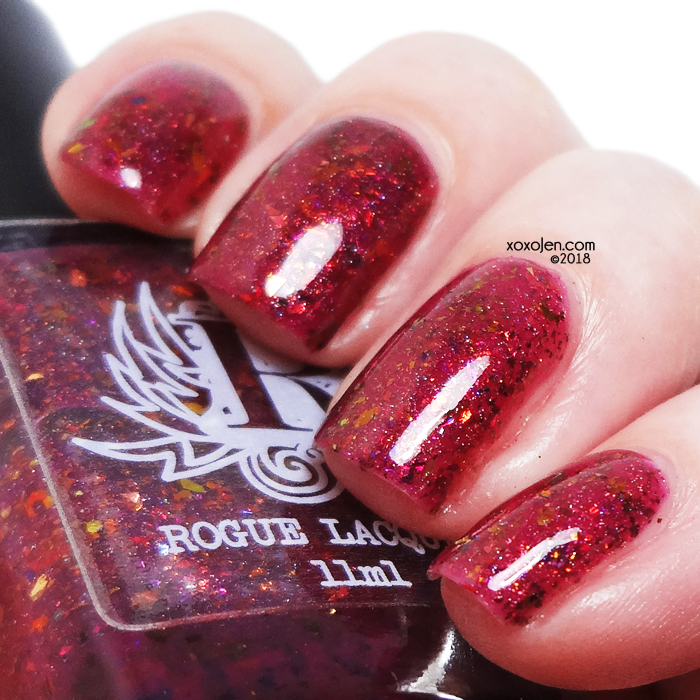 xoxoJen's swatch of Rogue Lacquer Antelope Canyon