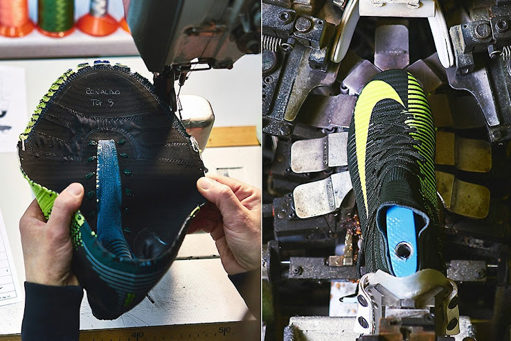 Fabricación botas Cristiano Ronaldo
