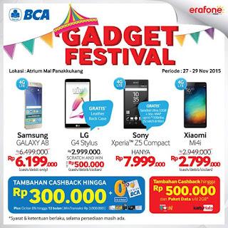 Makassar Gadget Festival Samsung Galaxy A8 Rp 6.199.000