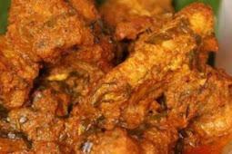 Resep Rendang Ayam Tanpa Menggunakan Santan