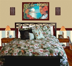 Hawaiian, Surf and Tropical Bedding