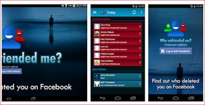 تطبيق اندرويد معرفة من قام بحضرك على فايس بوك